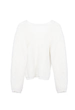 Equanimity white sweater