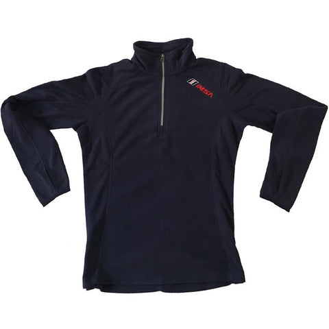 IMSA Men's Lightweight Half Zip Performance Fleece - Navy