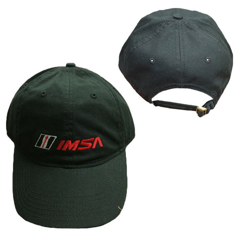 IMSA LOGO BUCKLE CAP - BLACK