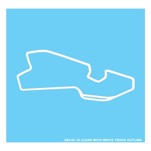 BELLE ISLE CIRCUIT DECAL