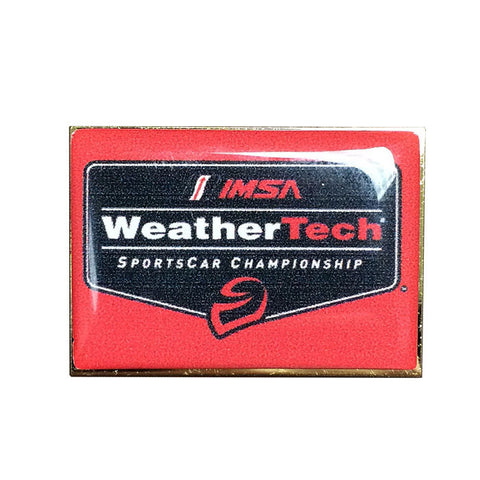 IMSA WeatherTech Logo Pin - Red