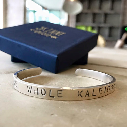 Mens Personalised Cuff Bangle