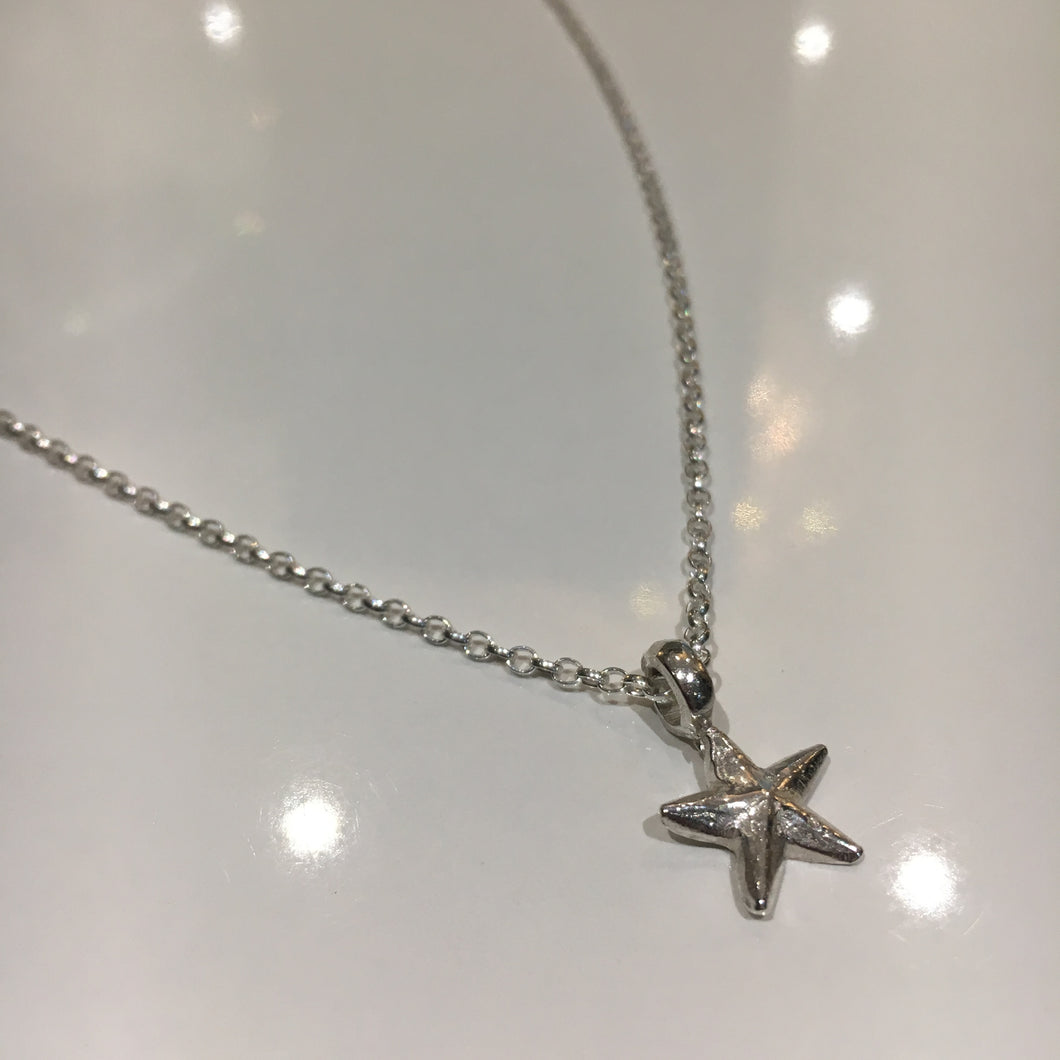 Lucky Charm Starfish Necklace