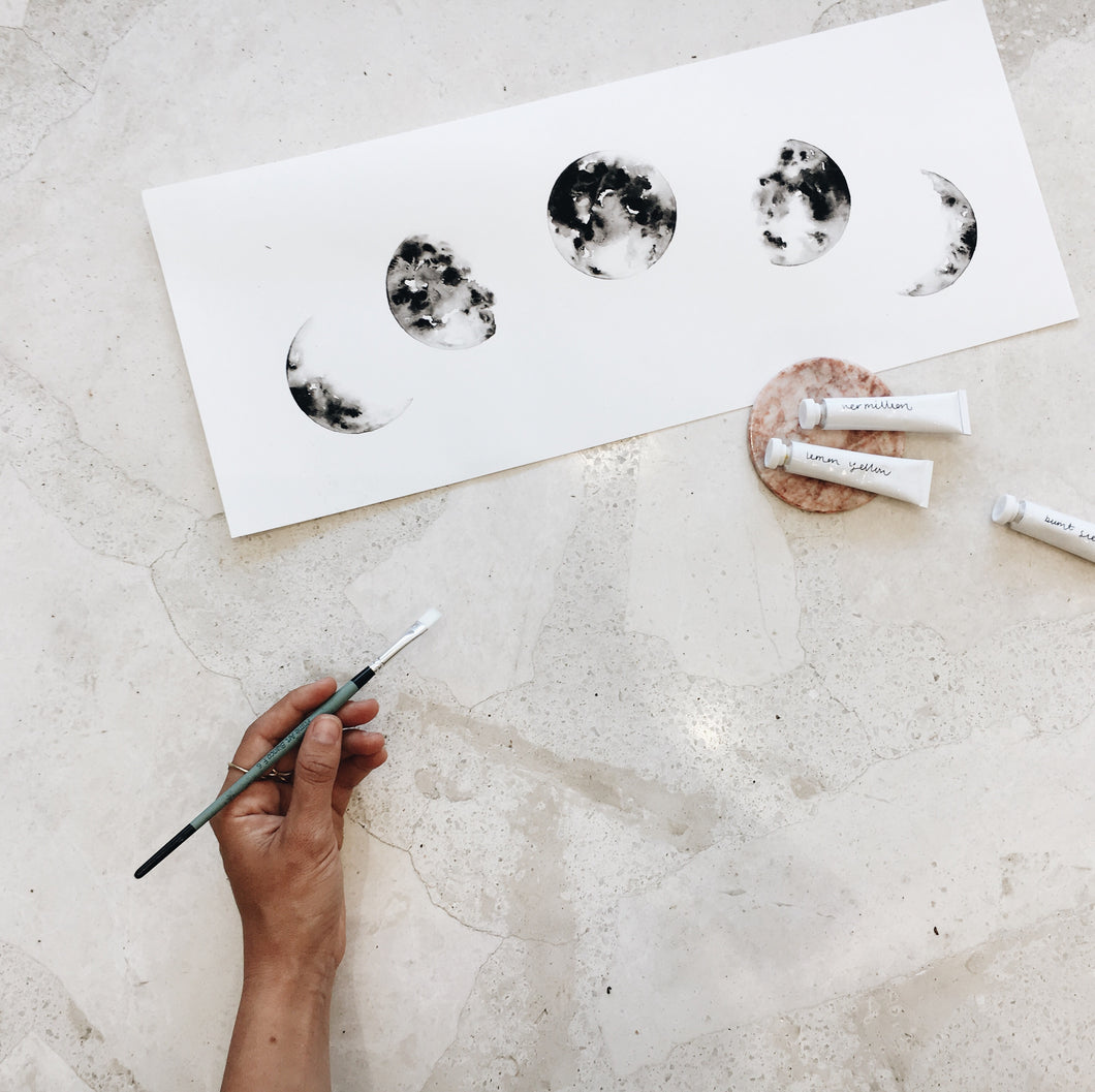 Follow Your Brush // Study Session at Margot Molyneux