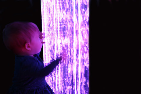 Interactive Sensory Bubble Wall with remote control