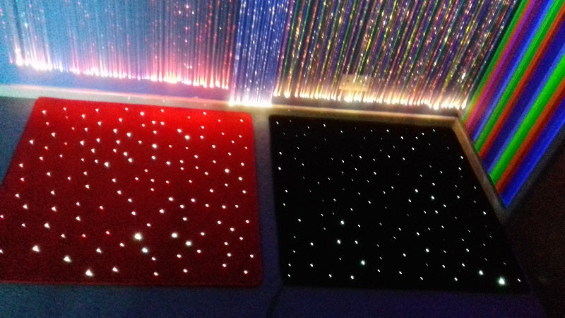 Fibre Optic Carpet + LED Light Source - Sensory In Play