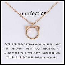 Cats Are Purrfection Necklace