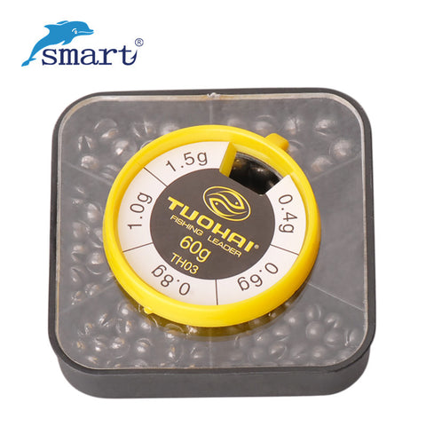Lot Round Split Shot Lead Weight 76pcs