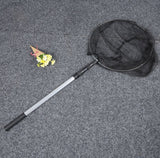 Folding Fishing Landing Net Aluminum 3 Section Extending Handle