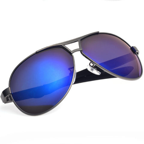 Polaroid Fishing Eyewear UV400 Protection Sunglasses Outdoor Man Driving Aluminum Magnesium Alloy Frame Pilots Glasses