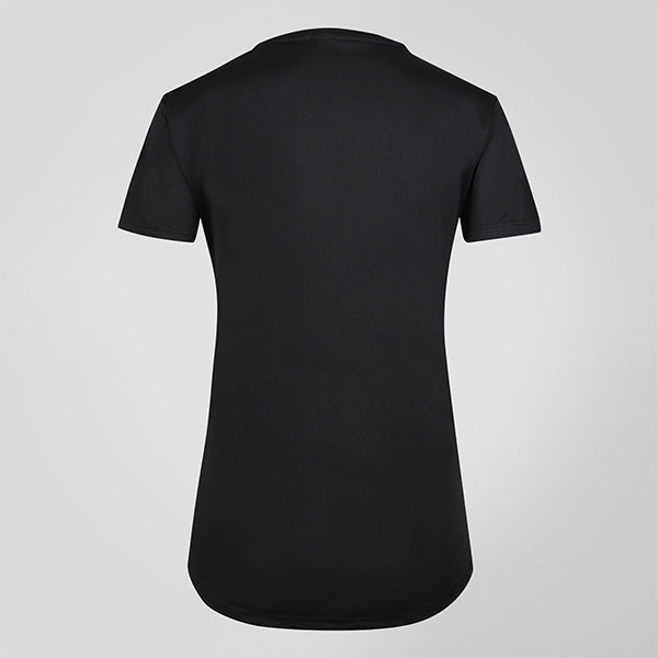 BLACK SMOOTH JUST STRONG TEE