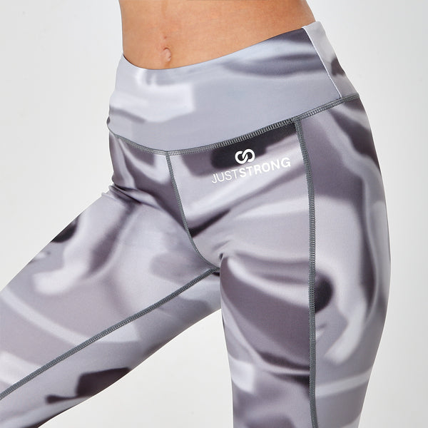 CHARCOAL AURORA JUST STRONG LEGGINGS
