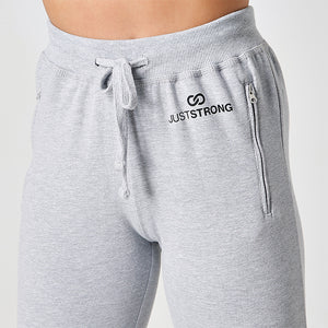 HEATHER GREY JUST STRONG JOGGERS