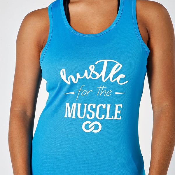 HUSTLE FOR THE MUSCLE TANK