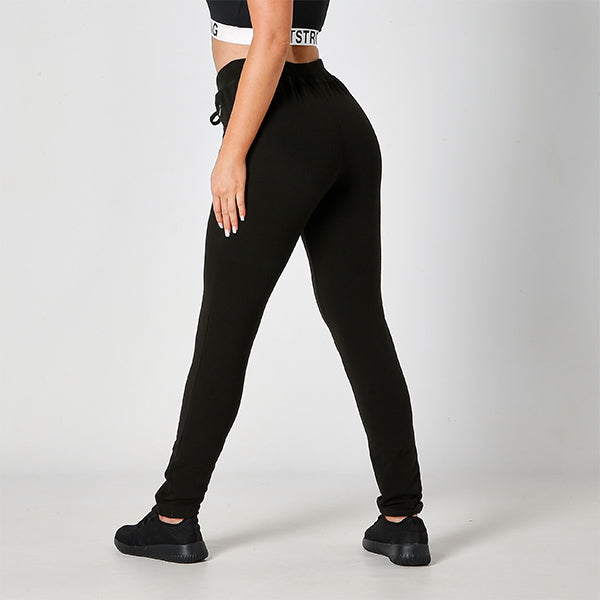 JET BLACK JUST STRONG JOGGERS