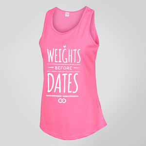 WEIGHTS BEFORE DATES TANK