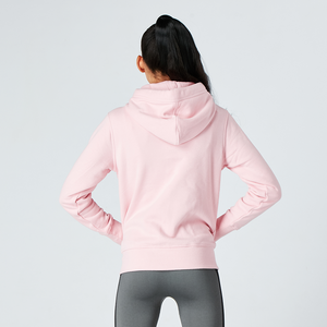 Baby Pink Organic Zip Up Jacket