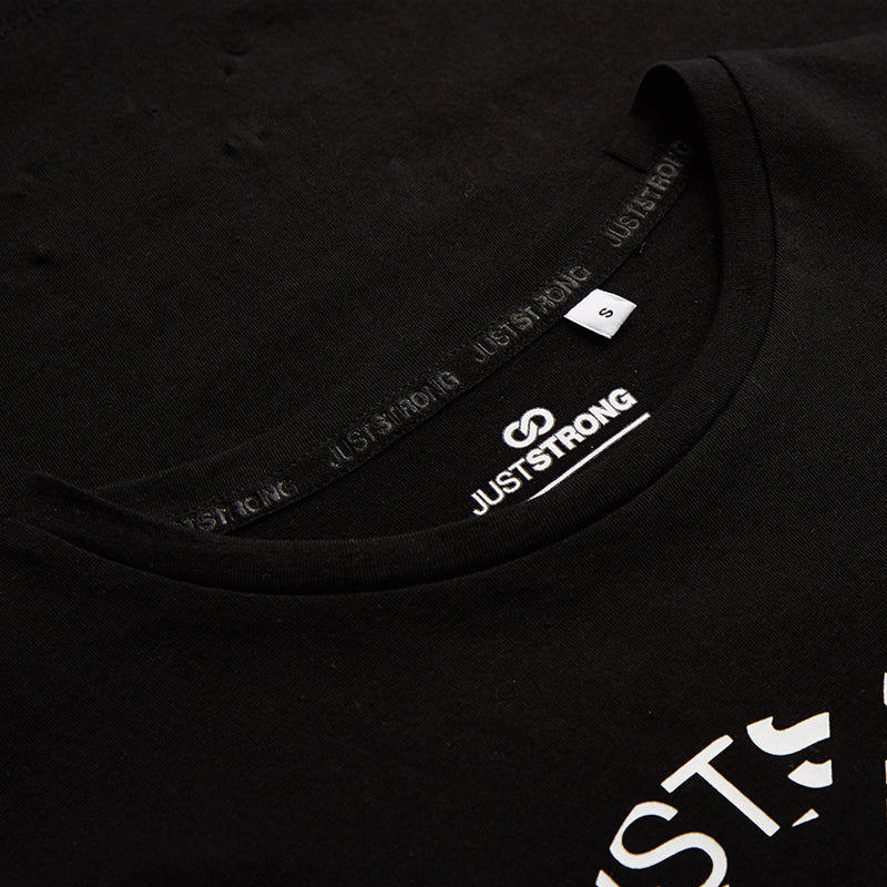 Black Logo Graphic Tee