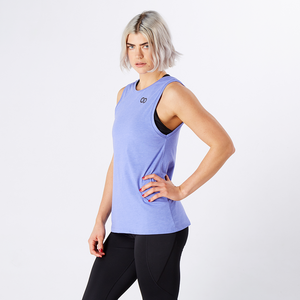 Blue Iris Marl Athletic Lift Your Game Tank