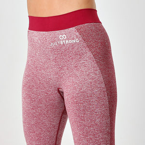 Burgundy Seamless Sculpt Leggings