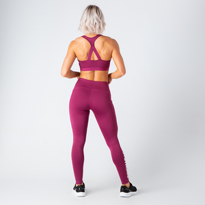 Crimson Motion Leggings