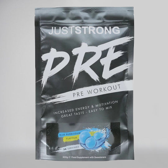 Blue Bubblegum Pre-Workout by Just Strong