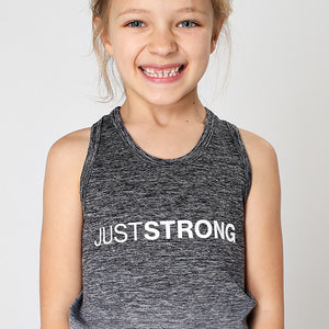 Kids Seamless Grey Ombre Tank