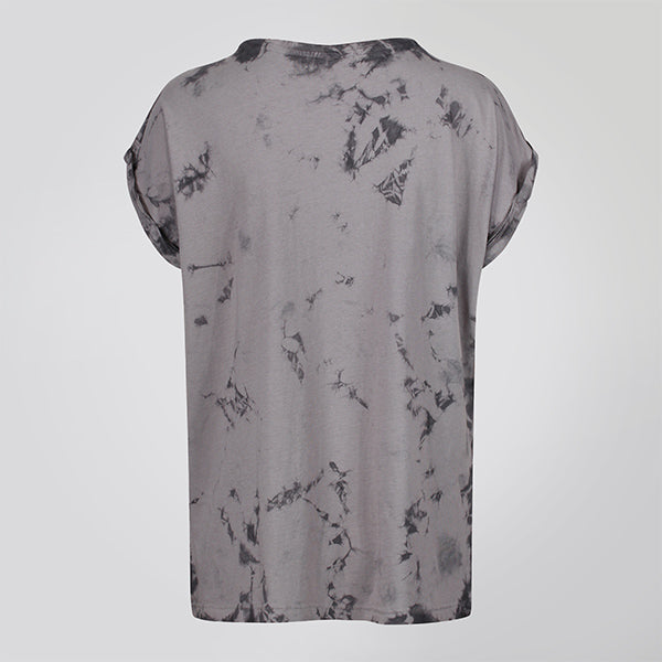 LIGHT BALTIK DYE EXTENDED SHOULDER TEE