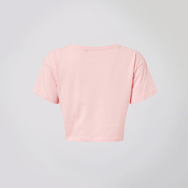 Light Pink Logo Crop Top