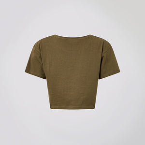 Olive Logo Crop Top