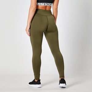 Olive Performance Leggings