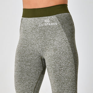 Olive Seamless Sculpt Leggings