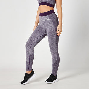 Purple Seamless Sculpt Leggings