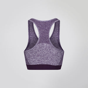 Purple Seamless Sculpt Sports Bra