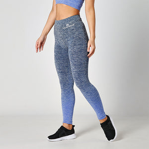 SEAMLESS BLUE OMBRE LEGGINGS