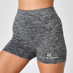 SEAMLESS GREY OMBRE SHORTS