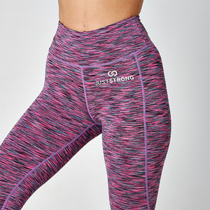 SPACE PINK JUST STRONG LEGGINGS