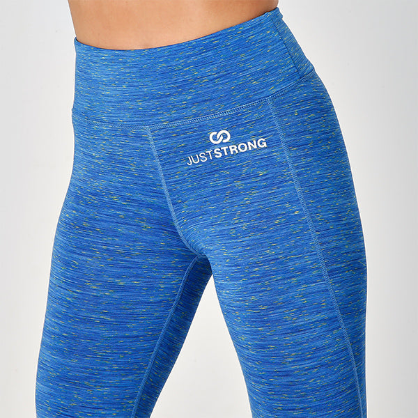SPACE SAPPHIRE JUST STRONG LEGGINGS