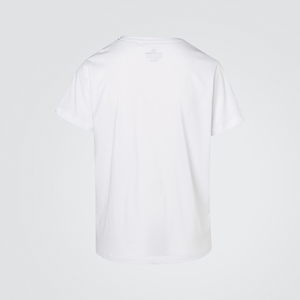 White Fade Graphic Tee