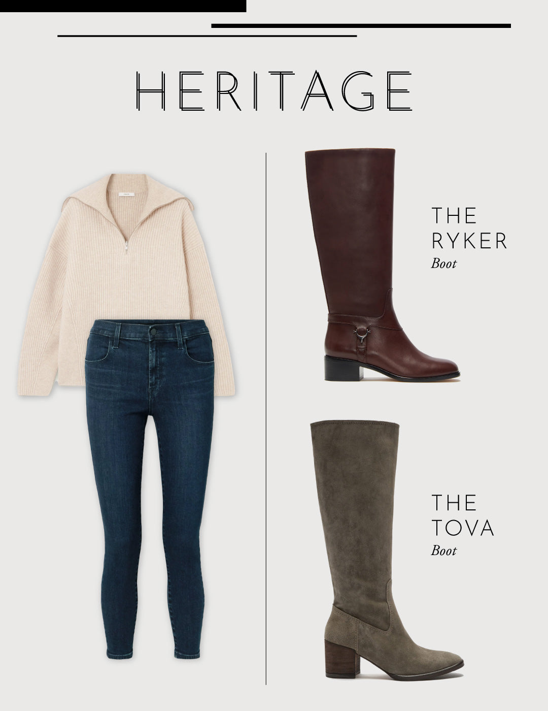 fall boots style guide- etienne aigner - heritage