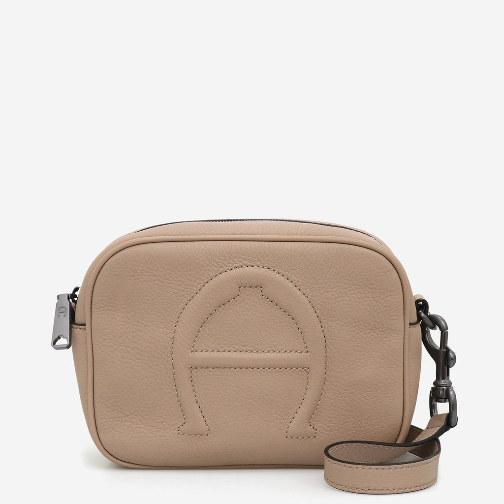 "BOMBE ""A"" CAMERA CROSSBODY - Etienne Aigner"