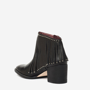 TATI FRINGE ANKLE BOOT