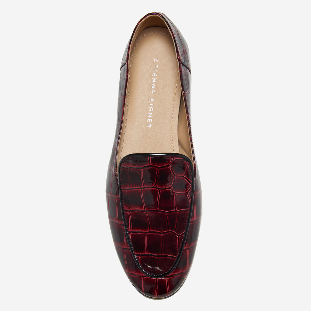CAMILLE LOAFER (Croco) - Etienne Aigner