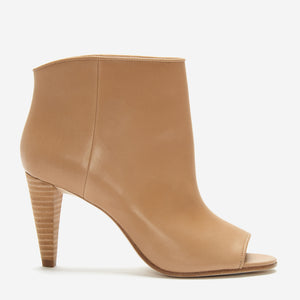 etienne aigner simone peep toe bootie earth side