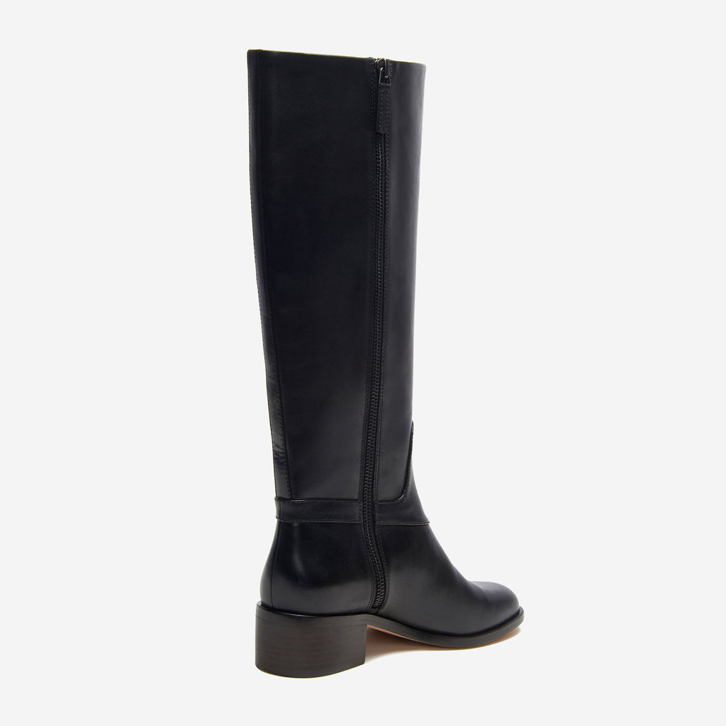 etienne aigner ryker boot black back angle