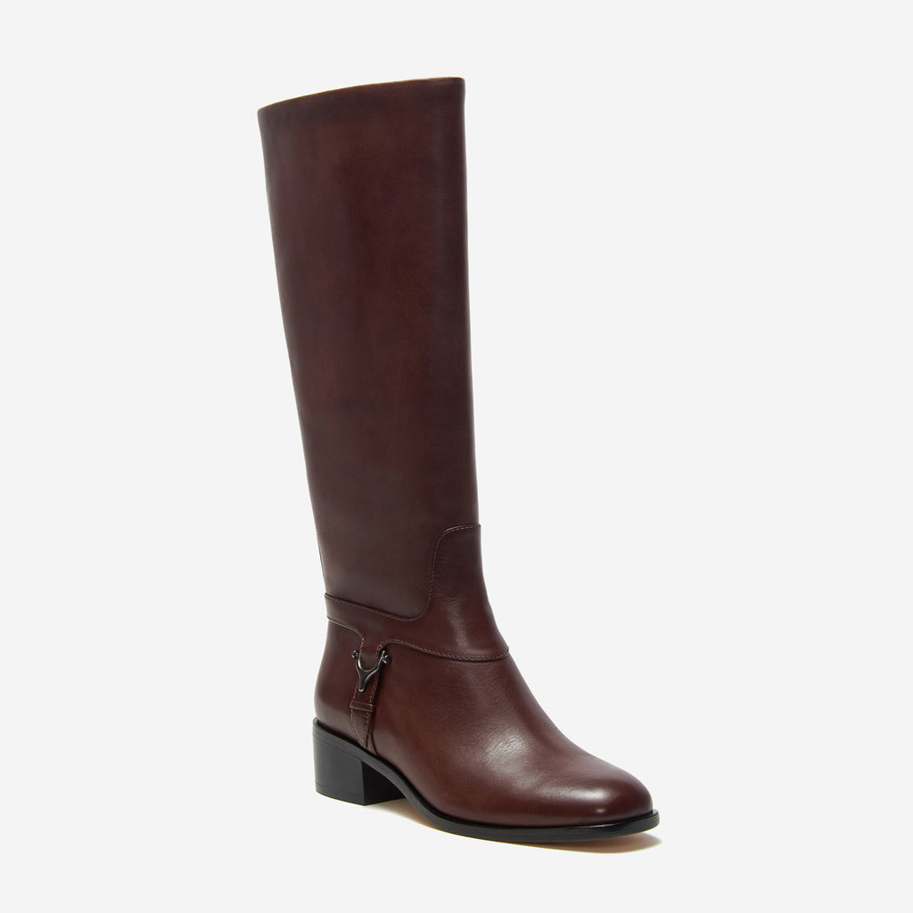 etienne aigner ryker boot dark brown angle