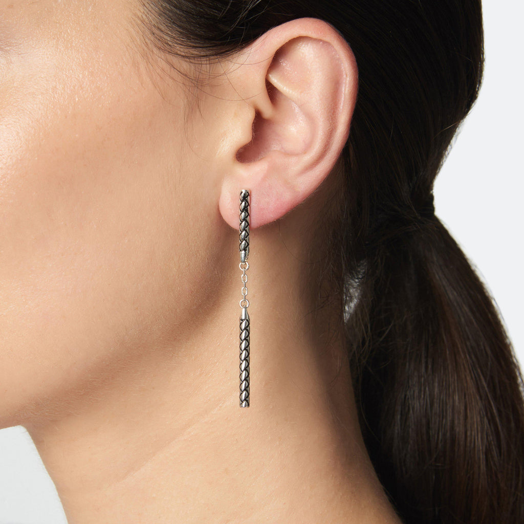 LINEAR DROP EARRINGS - Etienne Aigner