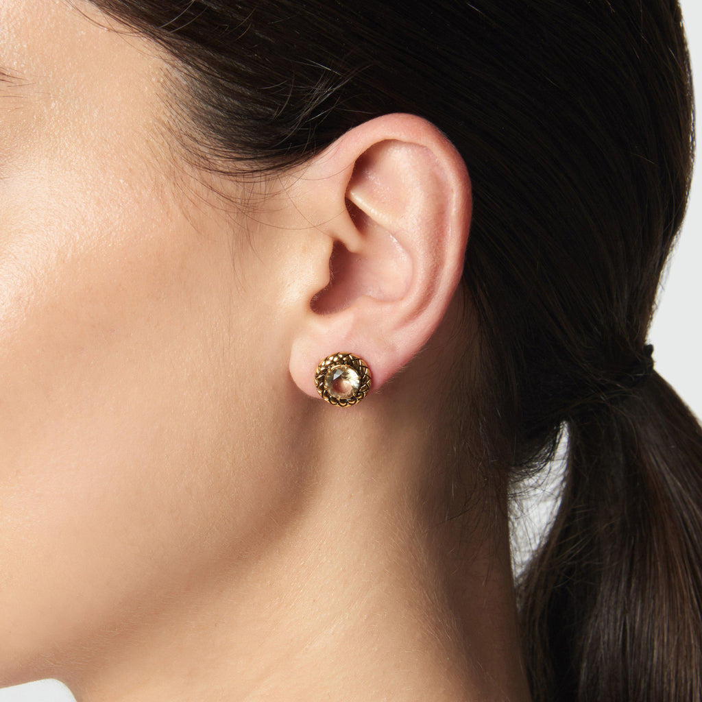 STONE STUD EARRINGS - Etienne Aigner