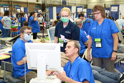 2016 Michigan Mission of Mercy Dental Event