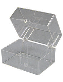 77 : Clear Hinged Box